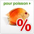 Promotions nourriture et accessoires pour poisson