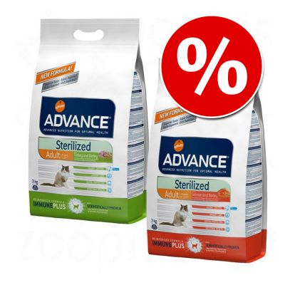 Advance Sterilized pienso para gatos - Pack mixto