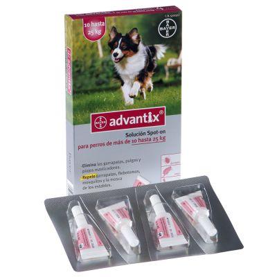 Advantix® Solución Spot-On para perros de 10 kg hasta 25 kg