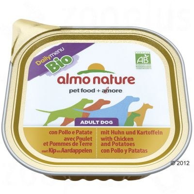 Almo Nature Daily Menu Bio Paté 9  x 300g