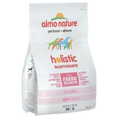 Almo Nature Holistic Adult Small saumon, riz pour chien
