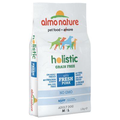 Almo Nature Holistic Grain Free M/L Adult con Maiale & Patate