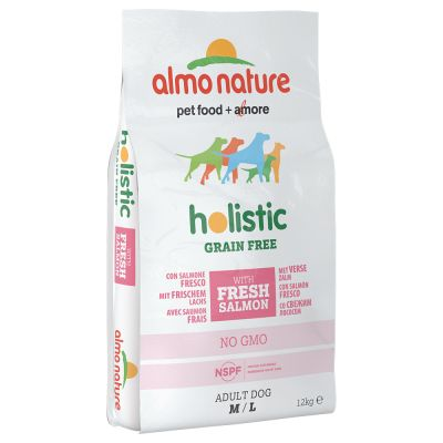 Almo Nature Holistic Grain Free M/L Adult con Salmone & Patate