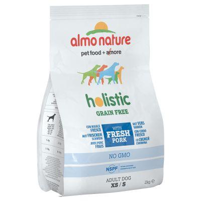 Almo Nature Holistic Grain Free XS/S Adult con Maiale & Patate
