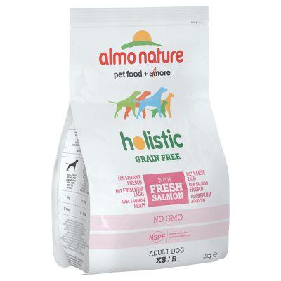 Almo Nature Holistic Grain Free XS/S Adult con Salmone & Patate