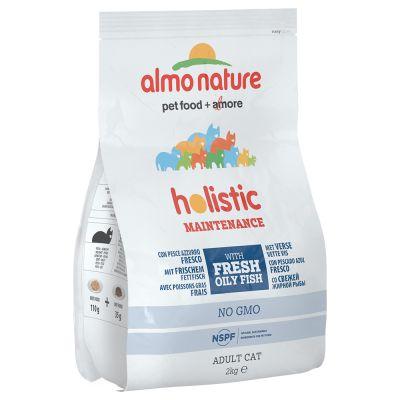 Almo Nature Holistic poisson gras, riz pour chat