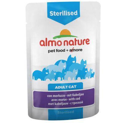 Almo Nature Sterilised Buste