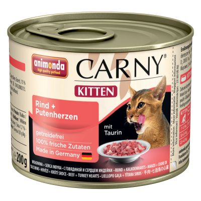 Animonda Carny Kitten, 6 x 200 g