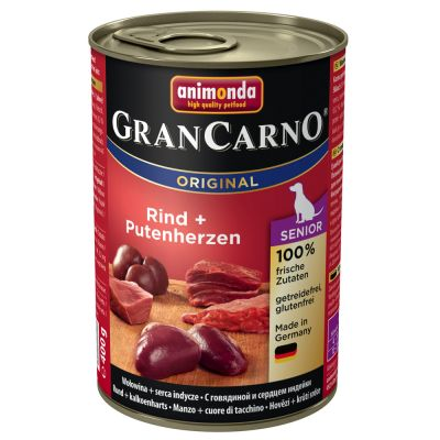 Animonda GranCarno Original Senior, 6 x 400 g