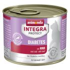 Animonda Integra Protect Adult Diabetes Dose, mit Rind