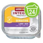 Animonda Integra Protect Adult Sensitive Schaaltje 24 x 100 g Kattenvoer