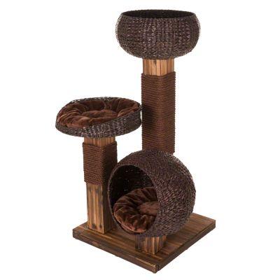 burned wood arbre chat zooplus. Black Bedroom Furniture Sets. Home Design Ideas
