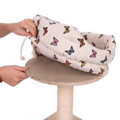 arbre chat butterfly prix discount sur. Black Bedroom Furniture Sets. Home Design Ideas