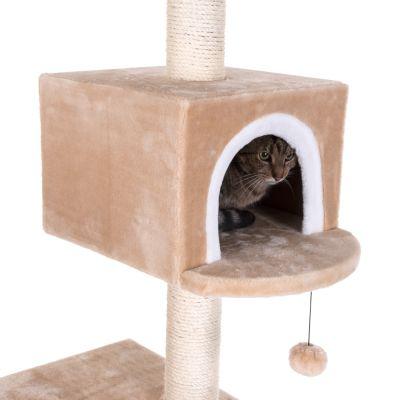 arbre a chat maison en pain d'epice avec echelle