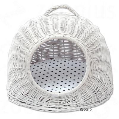 Aumüller Košara bela vklj. z obojestransko blazino