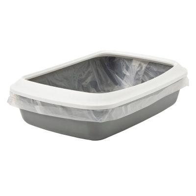 Bac à litière avec rebord Savic Iriz pour chat - 50 cm