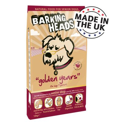 Barking Heads Golden Years Senior