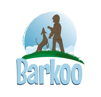 Barkoo huesos con nudos de piel de vacuno para perros pequeños