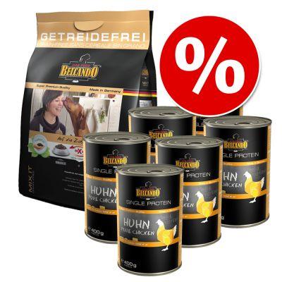 Belcando Mix it 3 kg + Belcando Single Protein 6 x 400 g