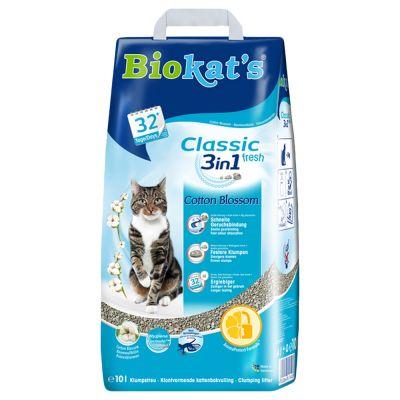 Biokat's Classic Fresh 3in1 - Fiori di cotone