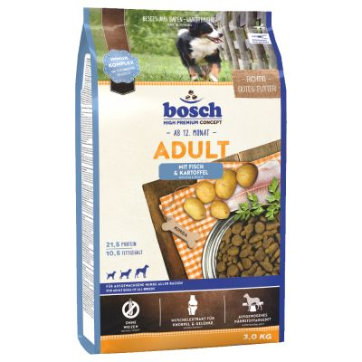 Bosch Adult Fish & Potato, ryba i ziemniak