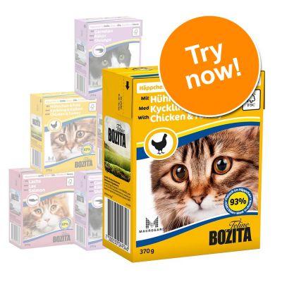 Bozita Chunks Mixed Trial Packs 6 x 370g