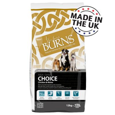 Burns Choice Adult & Senior - Chicken & Maize
