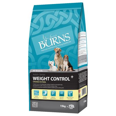 Burns Weight Control+ poulet, avoine pour chien