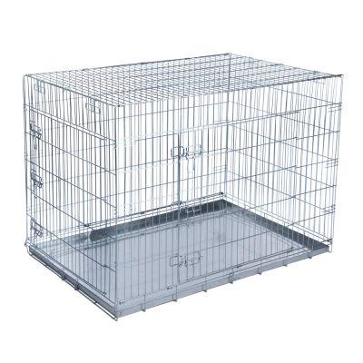 double door cage de transport pour chien et chat zooplus. Black Bedroom Furniture Sets. Home Design Ideas