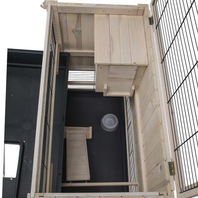 Indoor home cage pour lapin et cochon d 39 inde zooplus - Fabriquer cage cochon d inde ...