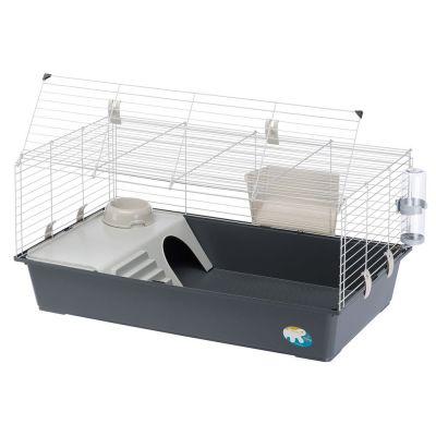 ferplast rabbit 100 cage pour lapin et cochon d 39 inde zooplus. Black Bedroom Furniture Sets. Home Design Ideas