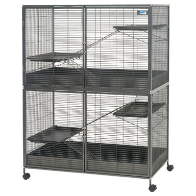 savic grande cage pour rat furet et chinchilla zooplus. Black Bedroom Furniture Sets. Home Design Ideas