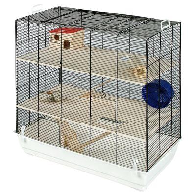 skyline fun area leon cage pour hamster gerbille et. Black Bedroom Furniture Sets. Home Design Ideas