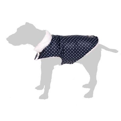 Cappotto per cani Cozy a pois