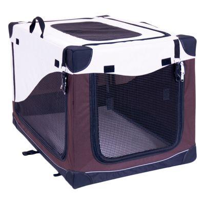 Caseta plegable Pet Home para perros