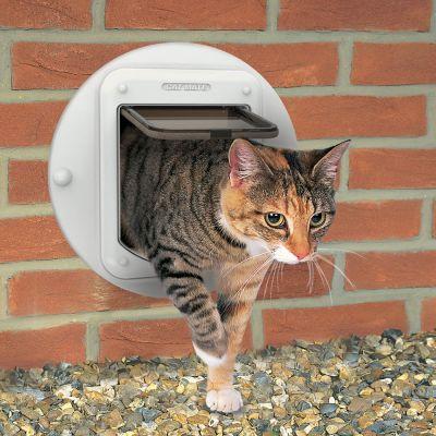 Cat Mate Microchip Cat Flap 360w Top Deals At Zooplus