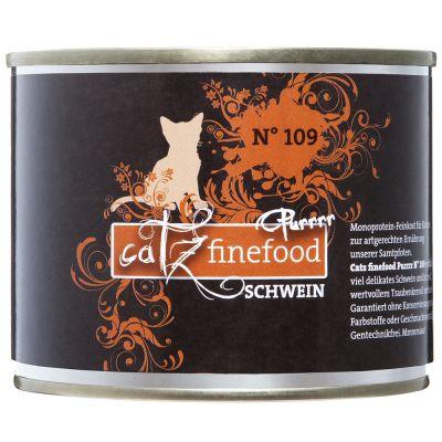 catz finefood Purrrr w puszkach, 6 x 200 g / 190 g