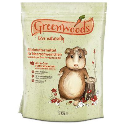 Cibo per porcellini d'India Greenwoods