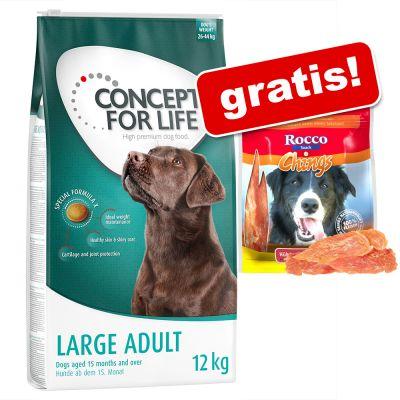Concept for Life + 250 g Rocco Chings Strisce di petto di pollo gratis!