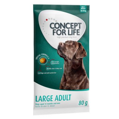 Concept for Life Dry Dog Food - 5 x 80g Trial Pack!*