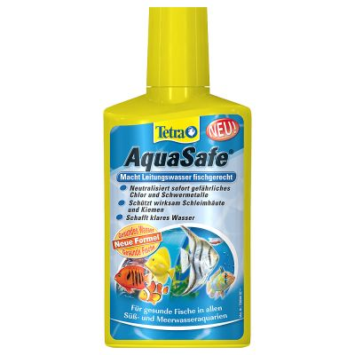 Conditionneur d'eau pour aquarium Tetra AquaSafe