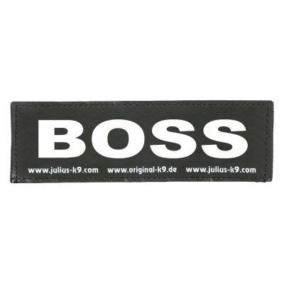 Coppia di adesivi Julius-K9 - logo: BOSS
