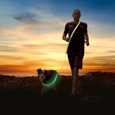 Correa de jogging Trixie Flash USB