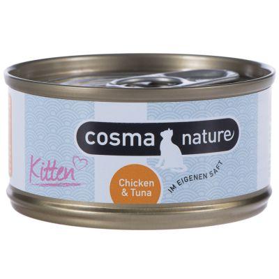 Cosma Nature Kitten 24 x 70 g