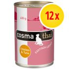 Cosma Thai in Jelly 12 x 400 g