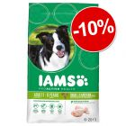 Croquettes Iams 12 kg : 10 % de réduction !