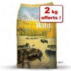 Croquettes Taste of the Wild 13 kg + 2 kg offerts !
