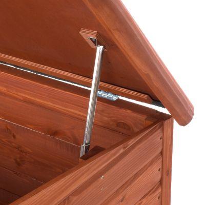 Cuccia per cani Woody con tetto piano