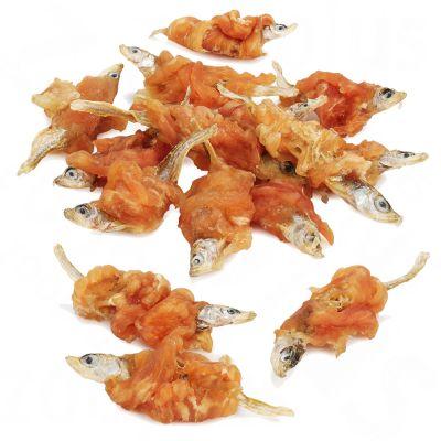 Dokas al petto di pollo con pesce
