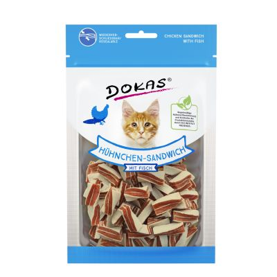 Dokas Tyggesnacks Kylling-Sandwich